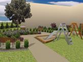 Projekt miejskiego placu zabaw - Katowice
