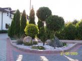 Ogród w Pyrzowicach