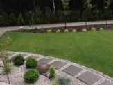 Ogród w Bieruniu