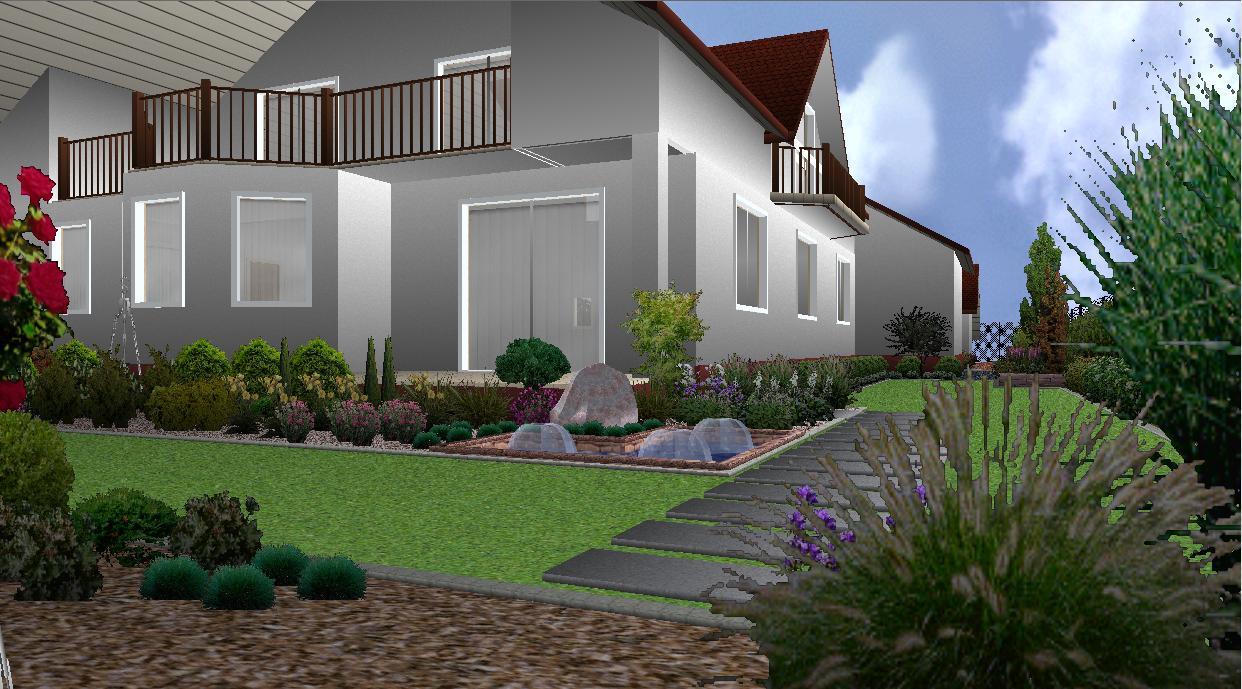 Projekt ogrodu-Dulowa