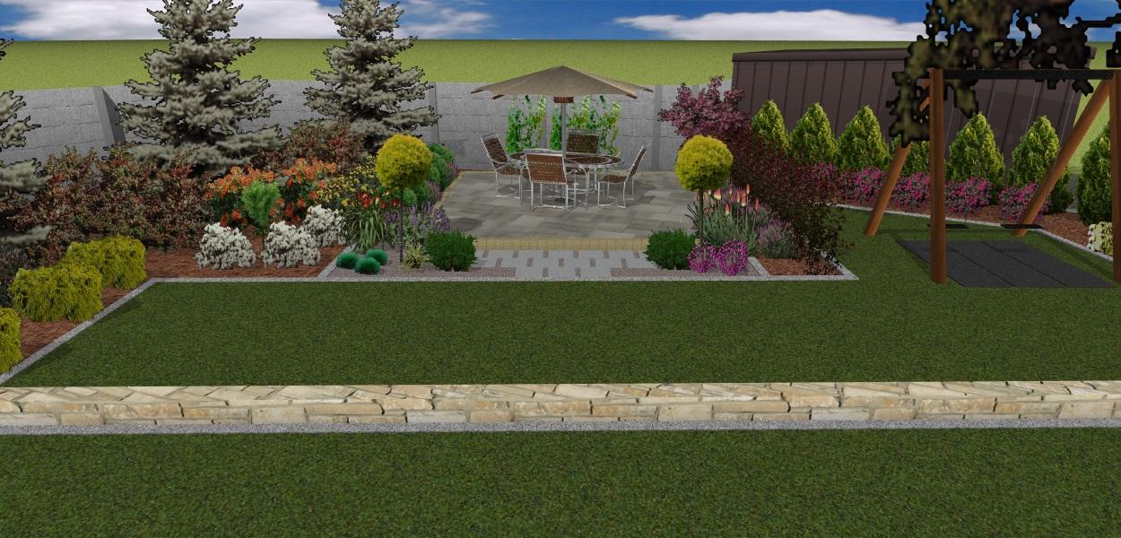 Projekt ogrodu - Chrzanów