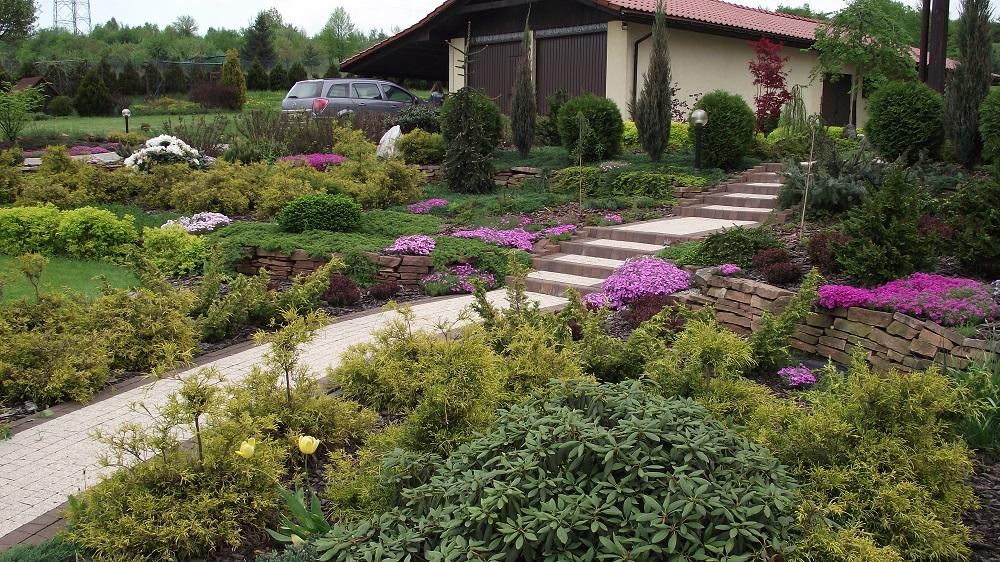 Ogród w Jeleniu