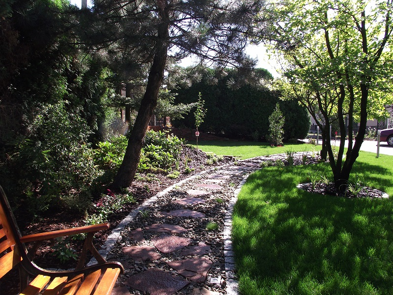 Ogród w Żarkach